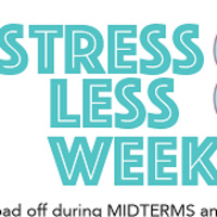 Stress Less Week - Coloring, Play Doh and Bracelets!