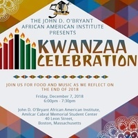 JDOAAI 2018 Kwanzaa Celebration
