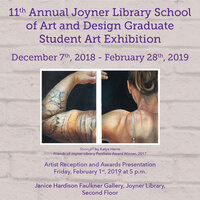 11th Annual Joyner Library School of Art and Design Graduate Student Art Exhibit Reception