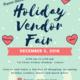 FSC Holiday Vendor Fair