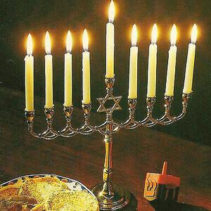 Hanukkah Candle Lighting