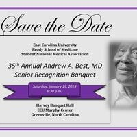 35th Annual Andrew A. Best, MD Senior Recognition Banquet
