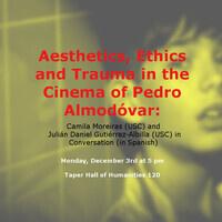 Aesthetics, Ethics and Trauma in the Cinema of Pedro Almodóvar