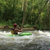 Beginner Whitewater Kayaking #2