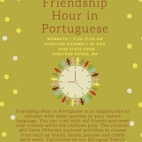 Friendship Hour in Portuguese