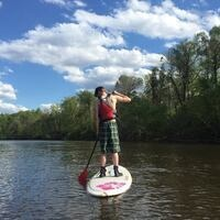 Stand Up Paddle Boarding at Pettigrew State Park