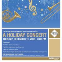 The NOVA Alexandria Music Department Presents: A Holiday Concert