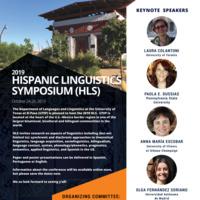 2019 Hispanic Linguistics Symposium (HLS)