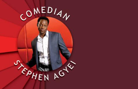 Comedian Stephen Agyei