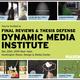 DMI Final Reviews & Thesis Defense