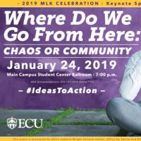 2019 MLK Celebration Speaker: Payton Head