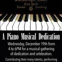 Piano Musical Dedication & Concert