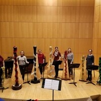 Kenyon Harp Ensemble Winter Performance