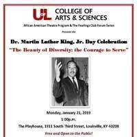 Dr. Martin Luther King, Jr. Day Celebration