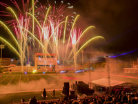 Homecoming Fireworks and Laser Light Show