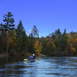 "Moonlight ""Lunar Lake"" Canoeing"
