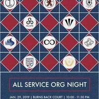 All Service Org Night