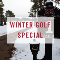 Winter Golf Special