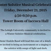 Winter Solstice Musical Celebration - Dec 21 | Chaplain's Office