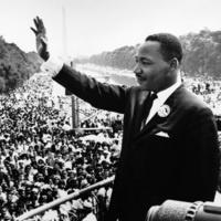 MLK speaking at March on Washington