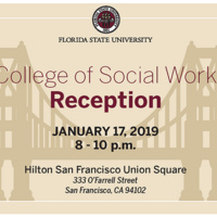 College of Social Work Reception - San Francisco