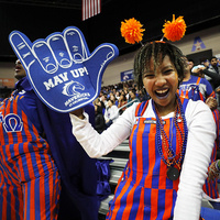 Apartment and Residence Hall Night at the UTA Men's Basketball Game