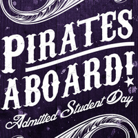 Pirates Aboard! Admitted Student Day 2019