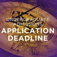 Transfer Application Deadline for Fall 2020