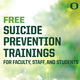 Suicide Prevention Training and Resources