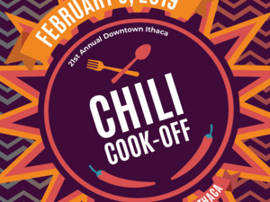 21st Annual Downtown Ithaca Chili Cook-Off