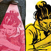 """""""WHO IS SHE? THE 'GIRLS! GIRLS! GIRLS! MURAL SERIES, COLLECTED"""""""