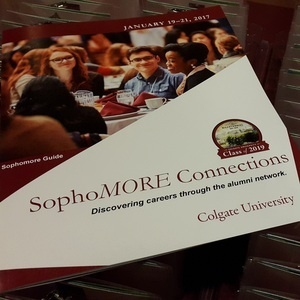 So You Missed SophoMORE Connections: Now What?