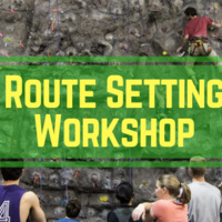 Route Setting Workshop