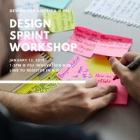 FSU Design for America Sprint
