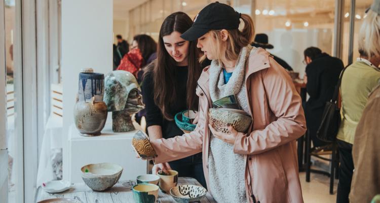 Spring Ceramics Studio Sale & CSArt Share Pick Up