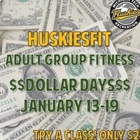 HuskiesFit Dollar Days