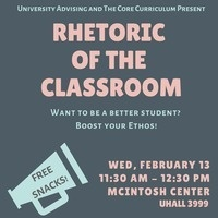 Rhetoric of the Classroom