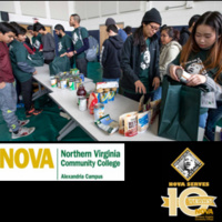 NOVA Alexandria Campus MLK Day of Service