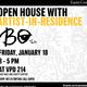 Open House with Artist in Residence with USC Race and Equity Center