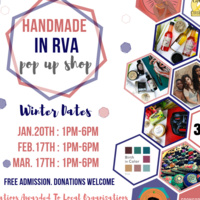 Hand-Made In RVA Pop Up Market