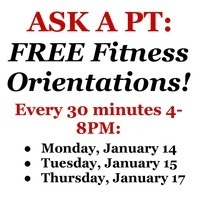 Ask a PT: Free Fitness Orientations