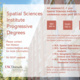 Spatial Sciences Institute Progressive Degree Info Session