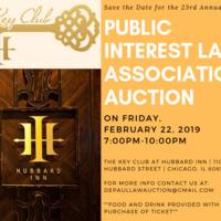 23rd Annual Public Interest Law Association (PILA) Auction