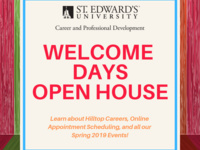 Career and Professional Development Open House