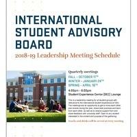 International Student Advisory Board