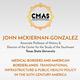 CMAS Speaker: John McKiernan- Gonzalez