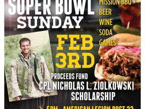 Second Annual Super Bowl Sunday Fundraiser