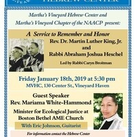 A Service to Remember and Honor Rev. Martin Luther King, Jr. & Rabbi Abraham Joshua Heschel