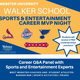 Walker School Sports & Entertainment Career MVP Night