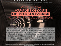 "Science on Tap: ""Probing the Universe with Particle Physics"""